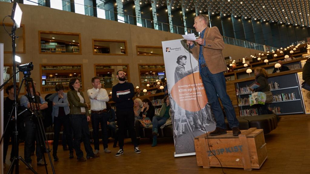 DSC02041 AmersfoortKiest fotoverslag opening Politieke Huiskamer ©Gerard Oonk