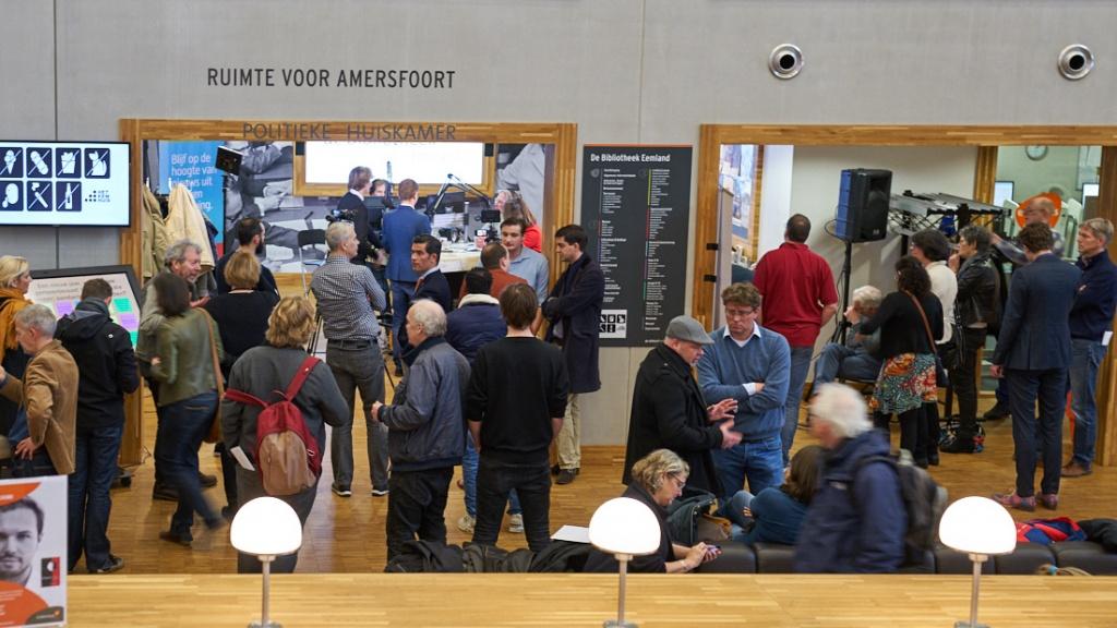 AmersfoortKiest fotoverslag opening Politieke Huiskamer ©Gerard Oonk
